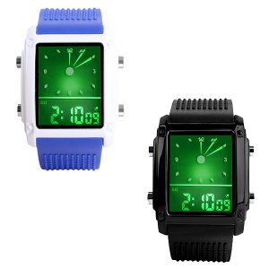 Reloj SKMEI 0814G LED hora dual deportivo Analógico digital