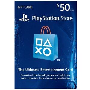 Gift card PSN 50 usd
