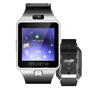 Reloj Inteligente Maxtime Smartwatch MG2410 Audifonos Podometro Cronometro Camara RadioFm