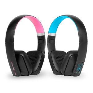 Energy Headphones BT2 + Bluetooth 4.0 Magenta/Cyan (Mic,Control talk, Foldable, Li-Ion Battery)
