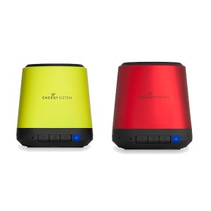Energy Music Box BZ1 Ruby Rojo/Verde bluetooth (Line in, built-in microphone and recheargable baterry)
