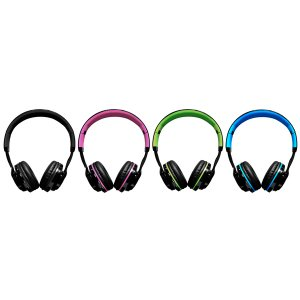 Extrabass headphones iGoma Rosado/Azul/Verde/Negro