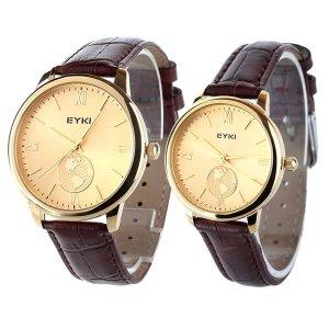 EYKI EET8846LS-SG0507 Cuarzo Relojes de Compromiso