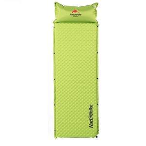 Naturehike Almohada inflable para camping - Verde